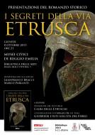 """""""I segreti della via etrusca"""" - presentazione ai Musei Civici di Reggio Emilia - 8.10.2015"""