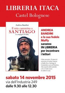 Andrea Bandini e Maffy incontrano i lettori nella Libreria Itaca - 14.11.2015