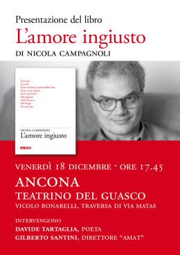 """""""L'amore ingiusto"""" - presentazione - Ancona 18.12.2015"""