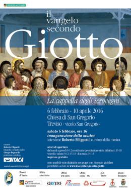 """La mostra """"Il vangelo secondo Giotto"""" a Treviso"""