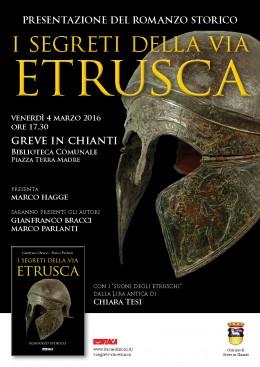 I segreti della via etrusca - Presentazione a Greve in Chianti - 4.3.2016