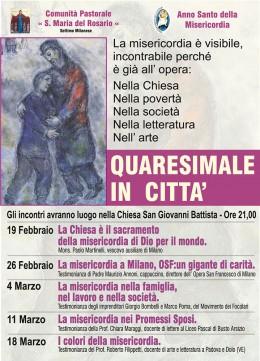 I colori della Misericordia - Roberto Filippetti a Settimo Milanese (MI) - 18.3.2016