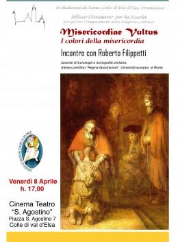 """""""I colori della misericordia"""" - Roberto Filippetti a Colle di Val d'Elsa (SI) 8.4.2016"""