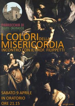"""""""I colori della misericordia"""" - Roberto Filippetti a Monte Cremasco (CR) 9.4.2016"""
