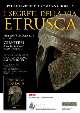 """""""I segreti della via etrusca"""" - presentazione a Cerveteri 13.5.2016"""