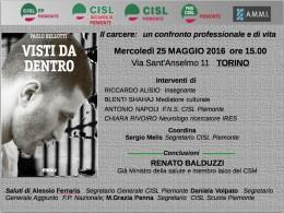 """""""Visti da dentro"""" - incontro a Torino  25.5.2016"""