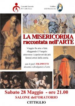 La Misericordia raccontata nell'arte - Roberto Filippetti a Cittiglio - 28.5.2016