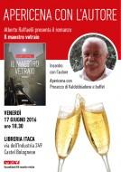 """""""Il maestro vetraio"""" - Apericena con l'autore alla Libreria Itaca - 17.6.2016"""
