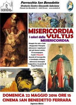 Misericordia Vultus - Roberto Filippetti a Ferrara 22.5.2016