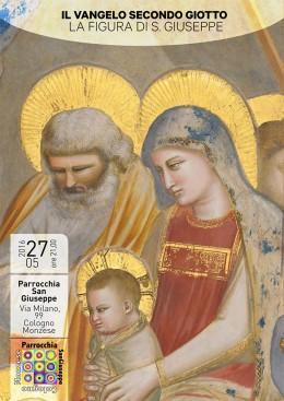 Il Vangelo secondo Giotto - Roberto Filippetti a Cologno Monzese - 27.5.2016