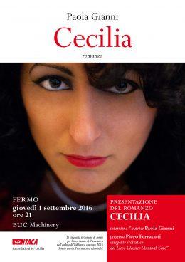 """""""Cecilia"""" presentazione a Fermo 1.9.2016"""