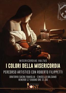 I colori della Misericordia - Roberto Filippetti a Cinisello Balsamo - 17.6.2016