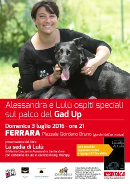 """La sedia di Lulù"" - presentazione a Ferrara - 03.7.2016"
