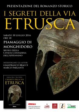 """""""I segreti della via etrusca"""": presentazione a Piamaggio di Monghidoro (BO)"""