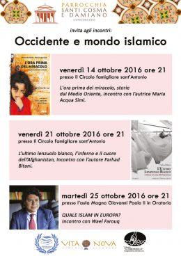 """""""L'ora prima del miracolo"""" - presentazione a Concorezzo (MB) - 14.10.2016"""