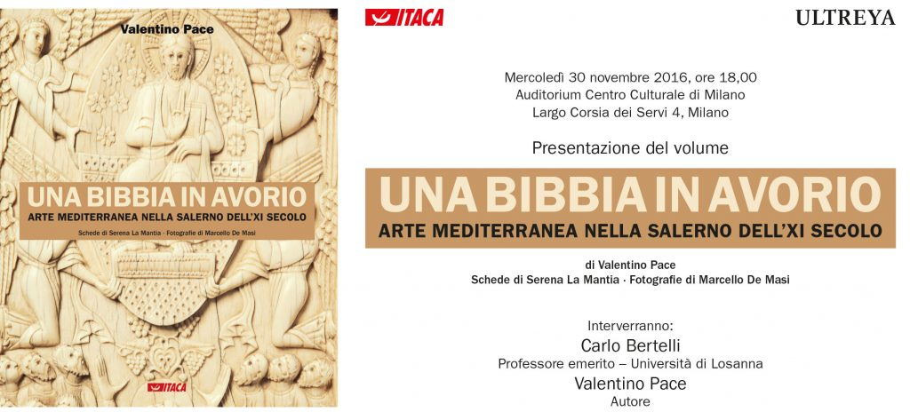 Una Bibbia una avorio - Presentazione al CMC - 30.11.2016