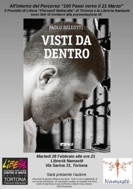 """""""Visti da dentro"""" - Presentazione a Tortona (AL) 28.2.2017"""
