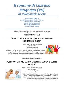 Educare con le fiabe - Roberto Filippetti a Cassano Magnago - 14.3.17
