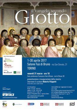 Il vangelo secondo Giotto a Torino - Presentazione di Roberto Filippetti 31.3.2017
