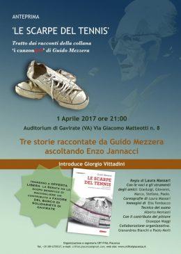 """""""Le scarpe del tennis"""" spettacolo a Gavirate - 1.4.2017"""