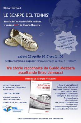 Le scarpe del tennis - Spettacolo teatrale - Fidenza 22.4.2017