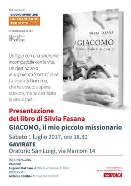 Giacomo, il mio piccolo missionario - Presentazione a Gavirate 01.07.2017