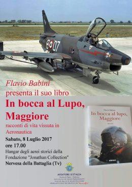 Flavio Babini-Presentazione a Nervesa della Battaglia (TV)