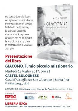 Giacomo il mio piccolo missionario presentazione CASTEL BOLOGNESE 18-07-2017