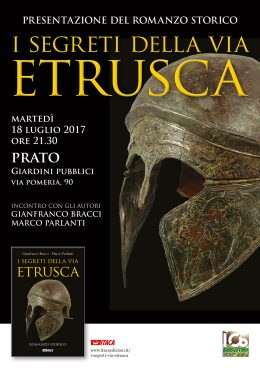 Segreti via etrusca PRATO 18-07-17 locandina WEB