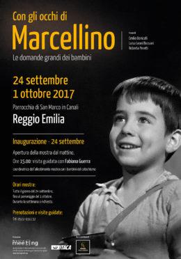 Con gli occhi Marcellino-Reggio-Emilia