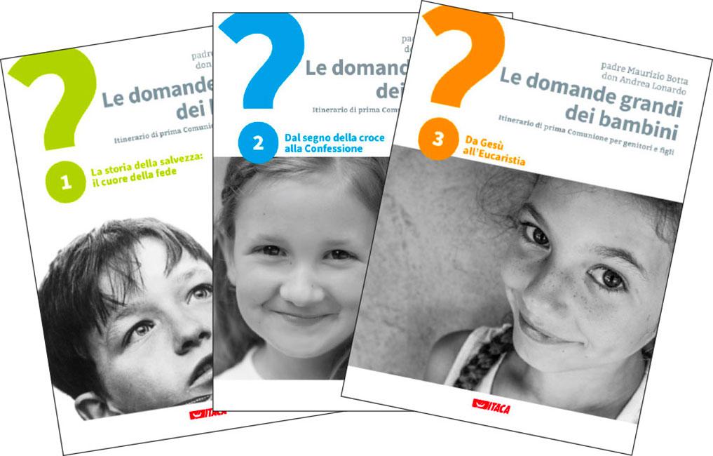 Le domande grandi dei bambini - 3 volumi