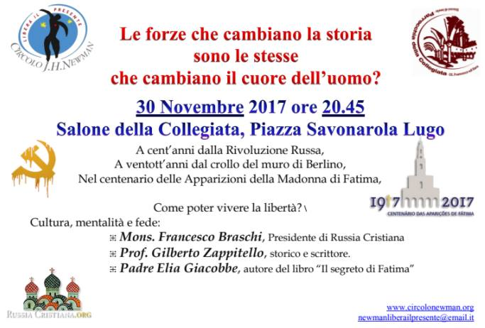 Incontro con Francesco Braschi e Gilberto Zappitello a Lugo - 30.11.2017