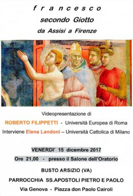 Francesco-secondo-Giotto-Busto-Arsizio-Videopresentazione