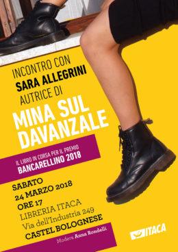Mina sul davanzale - Presentazione Castel Bolognese 24 marzo 2018