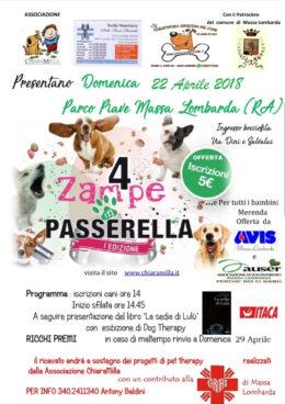 La sedia di Lulù - presentazione a Massa Lombarda - 22 aprile 2018