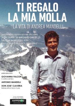 """""""Ti regalo la mia molla"""" - Presentazione del libro di Andrea Mandelli a Brugherio - 30 maggio 2018"""