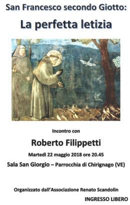 Francesco secondo Giotto-Filippetti a Chirignago-22 maggio 2018