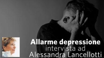 """Alessandra Lancellotti - Intervista a RVS su """"Allarme depressione"""""""