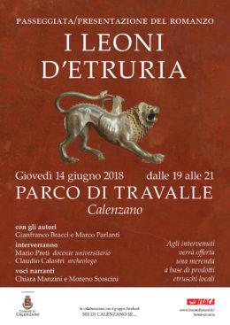 """""""I leoni d'Etruria"""" - Passeggiata/presentazione al Parco di Travalle (Calenzano) - 14 giugno 2018"""