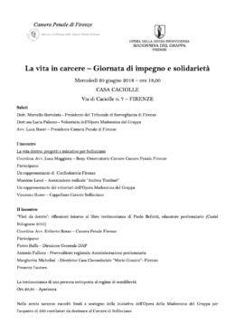 """""""Visti da dentro"""" di Paolo Bellotti a Casa Caciolle - Firenze - 20 giugno 2018"""