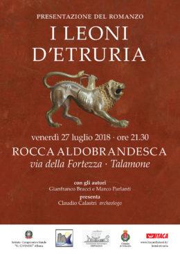 I leoni d'Etruria - presentazione a Talamone - 27 luglio 2018