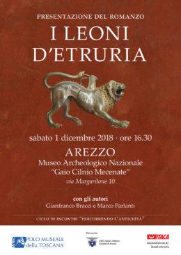 I leoni d'Etruria - presentazione Arezzo - 30 novembre 2018