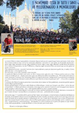 Marco Gallo - Pellegrinaggio a Montallegro - 1 novembre 2018