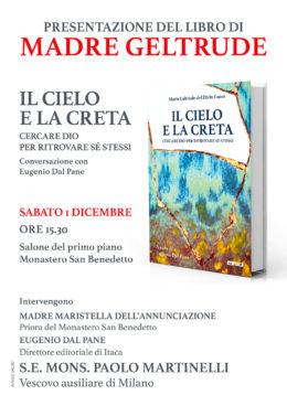 Il cielo e la creta - Presentazione al Monastero San Benedetto di Milano - 1 dicembre 2018