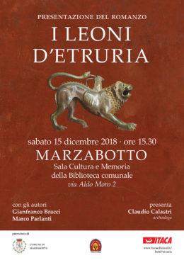 I leoni d'Etruria - presentazione a Marzabotto - 15 dicembre 2018