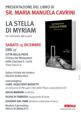 La stella di Myriam - presentazione a Città della Pieve - 15 dicembre 2018