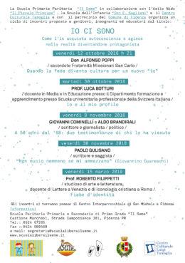 Fiabe d'identità - Roberto Filippetti a Fidenza - 15 marzo 2019