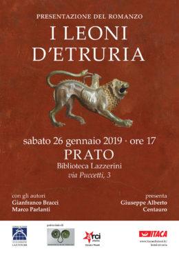 I leoni d'Etruria - presentazione a Prato - 26 gennaio 2019