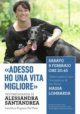 Incontro con Alessandra Santandrea - Massa Lombarda 9 febbraio 2019