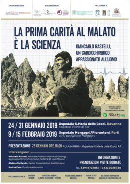 Mostra su Giancarlo Rastelli - Ospedale Ravenna e Forlì - gennaio-febbraio 2019